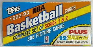 1992-93 TOPPS BASKETBALL COMPLETE FACTORY SEALED SET **SHAQ ROOKIE**