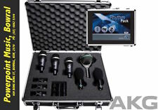 AKG Rhythm Pack Professional Drum Microphone set (6 Mics) RRP$1499