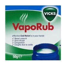 Vicks Vapour Rub 50g Soulage le Rhume