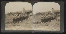 DOUBLEDAY PAGE STEREOVIEW  Russia Japan War - Japanese Bomb Proof Dugout view