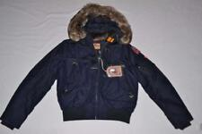 AUTHENTIC PARAJUMPERS GOBI ECO BOYS HOODED BOMBER NAVY YOUTH L LARGE BRAND NEW