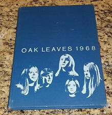 1968 Meredith College Oak Leaves Raleigh North Carolina College Yearbook Annual