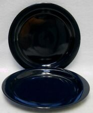 "DANSK china BISSERUP BLUE (Thailand) Bread Plate - Set of Two (2) -7-3/8"""