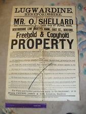 More details for auction poster - lugwardine, herefordshire - jessamin house, hagley