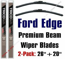 2007-2014 Ford Edge Wipers 2-Pack Premium Beam Wiper Blades Front - 19260/19200