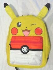 POKEMON PIKACHU 3D Puffed Pocket Backpack