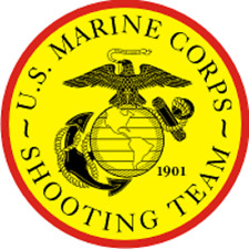 Usmc Shooting Team Decal Sticker