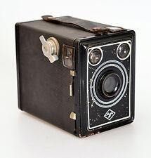 AGFA Box 50 + Meniscus m. Gelbfilter + Tasche ! (3056)