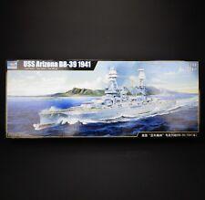 Trumpeter Models # 03701 1/200 USS Arizona BB-39 Battleship Model Kit