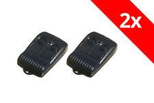 2 x Allmatic B.RO2WN Handsender 433 Mhz Rolling Code 2-Befehl Bernal Wave Sender
