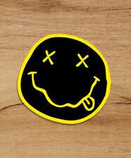 Nirvana Kurt Cobain Grunge Smile 3''x3'' Premium Quality Vinyl Sticker Decal