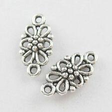 200pcs Tibetan Silver Nice Flower Connectors 16x8mm 5094