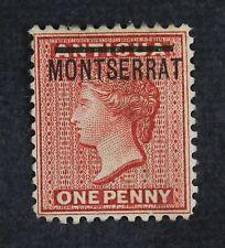 CKStamps: GB Montserrat Stamps Collection Scott#11 Unused NG