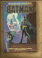 Batman movie adaptation NM 1989 #1 Graphic Novel Joker DC comics RARE 2ND PRINT