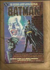 Batman movie adaptation NM 1989 #1 Graphic Novel Joker DC comics RARE 2ND PRINT