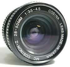 Cosina 28-50mm f3.5-4.5 Zoom Lens PK Mount with Caps UK Fast Post