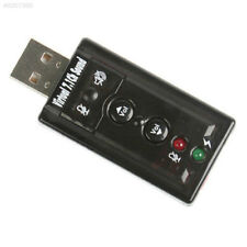 External USB 2.0 Audio With Microphone Converter 7.1 Ch Sound Card Adapter