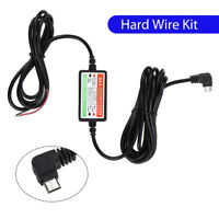 Original Hard Wire 5V Adapter Micro USB Charger for Mini 2,1 Car Dash Cam Camera