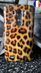 Coque Plastique Souple Housse Etui LG G3 Tigre Félin Lion Léopard Tiger 28