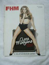 CALENDRIER FHM 2010 CLARA MORGANE PHOTOGRAPHIEE PAR RANKIN
