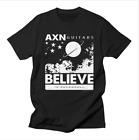 AXN™ Guitar Believe In RockNRoll T-Shirt for sale