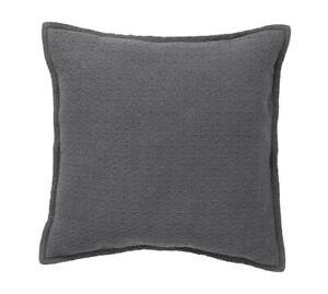 Pottery Barn Mini Diamond Flagstone gray  Pillow 16x16 Complete Pillow