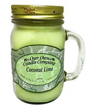 Our Own Candle Company Coconut Lime Large 13oz Mason Jar Candle