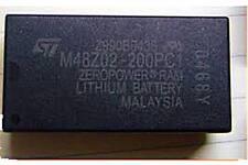 ST M48Z02-200PC1 DIP-24 5V 16 Kbit (2Kb x 8) ZEROPOWER