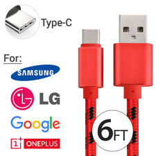 OEM Samsung Fast Charger USB Type-C Charging Cable for Galaxy S8 S9 Note 8 LG G6