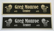 Greg Monroe nameplate for signed basketball photo jersey or case