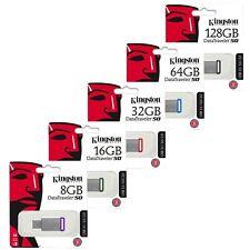 Kingston 16/32/64/128GB GB DT50 USB 3.1 Stick Drive SpeicherstickRetail