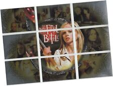 "Buffy Season 7 - 9 Card ""The Final Battle"" Gold Parallel Chase Set FBP-1 - FBP-9"