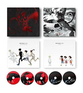 New DEVILMAN crybaby COMPLETE BOX First Limited Edition Blu-ray Japan ANZX-14231