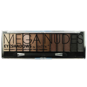 Technic Mega Nudes - Naked Nudes 12 Shade Natural EyeShadow Palette Brown Cream