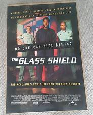 The Glass Shield (1994) Original Movie Poster 27x40 Ice Cube Lori Petty DS