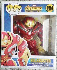 "Big 6"" Marvel Universe Avengers Infinity War Funko POP! Hulkbuster Vinyl Figure"
