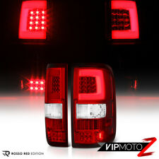 04-08 Ford F150 Lobo LED Light Bar Tube Clear Red Brake Signal Rear Tail Lamp