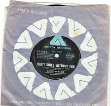 """BARRY MANILOW - CAN'T SMILE WITHOUT YOU - 7"""" 45 VINYL RECORD - 1978"""