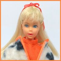 Vintage Barbie TNT - Platinum Blonde Hair - in Plush Pony #1873 Mod Twist N Turn