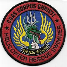 COAST GUARD AIR STATION USCG CORPUS CHRISTI TX HELO RESCUE SWIMMER GREEN DRAGON
