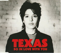 Texas Maxi CD So In Love With You - Europe (EX/EX+)