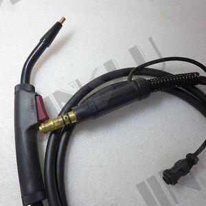 """10"""" Mig gun Fit Lincoln Weld Pak 125 HD Mig Welder Flux Core Welder K2513-1"""