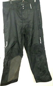 SHIFT Mx Riding Pants ~ Over the Boot Motocross Snowmobile ~Size 34 Mens Black