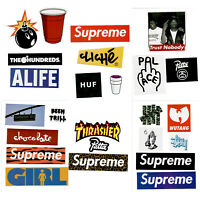 25 Stickers Pack Bundle 100% Authentic Customize Red Box Logo Skate Laptop Phone