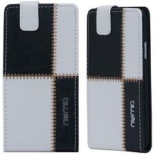 Handy Hülle Samsung Galaxy S5 S4 S3 Mini Schutzhülle Tasche Flip Cover Case Etui
