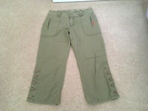 Voodoo Dolls Ladies Cropped Trousers, Size 10