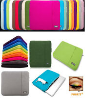 Laptop Soft Sleeve Bag Case Pouch For DELL HP ACER ASUS LENOVO TOSHIBA SONY IBM