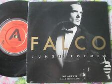 "Falco ‎– Junge Roemer A&M Records ‎– AM 206 UK 7"" A Label Demo Vinyl Single"