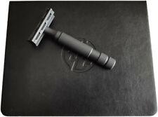 Rockwell 6S BLACK Adjustable Stainless Steel Safety Razor