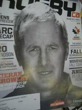 RugbyCa Magazine Holiday 2013 #3-Kieran Crowley/Langford/Canada In Romania Georg